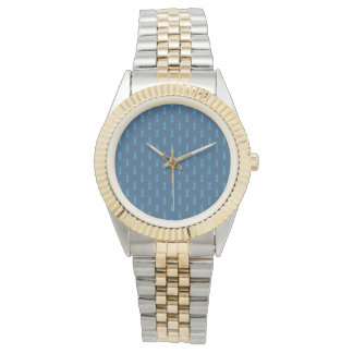 Sea Sailor Nautical Marine Two-Tone Bracelet Watch