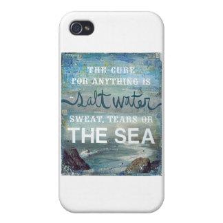 Sea Salt Water   Beach Ocean Cases For iPhone 4