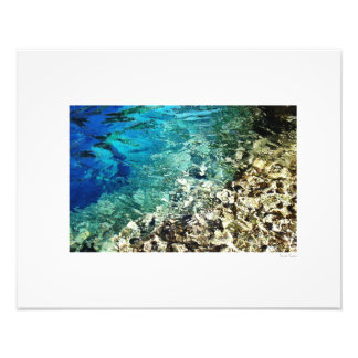 "Sea & Sand 20""x16"" Art Photo"
