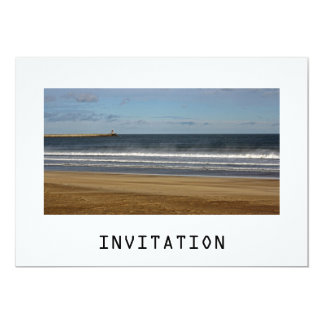 Sea, Sand and Sky Invitation