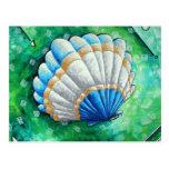Sea Scallop Postcard