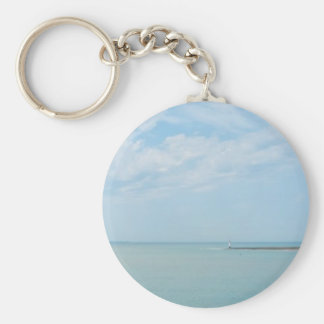 sea scape coming home key ring