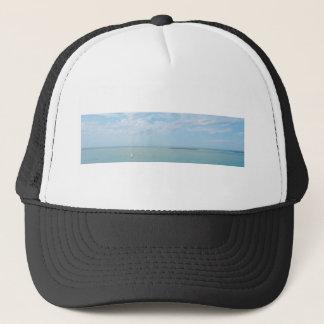 sea scape coming home trucker hat