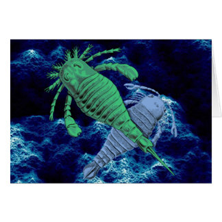 Sea Scorpions Card