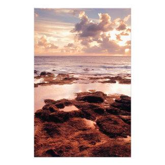 Sea Serene Shore Customized Stationery