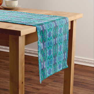 Sea Serpent Abstract Medium Table Runner