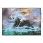 Sea Serpent Card