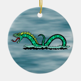 Sea Serpent Christmas Ornament