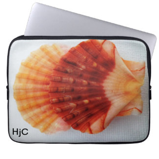 sea shell 3 laptop cover