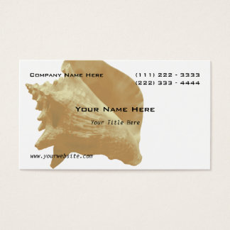 Sea Shell Business Card