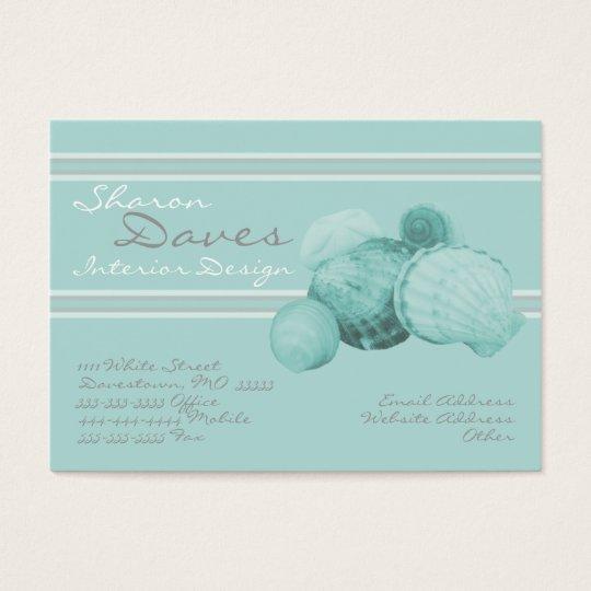 Sea Shell Chubby Business Card