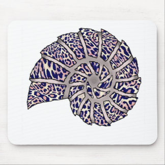 Sea Shell Digital Stencil Collage - 10 Mouse Pads