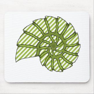 Sea Shell Digital Stencil Collage - 18 Mousepads