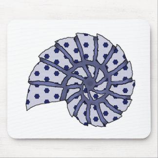 Sea Shell Digital Stencil Collage - 19 Mousepads