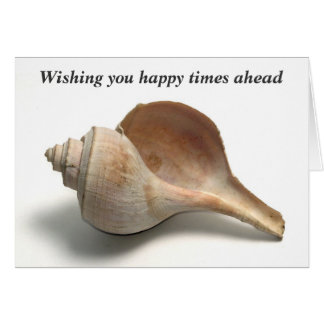 Sea Shell - Farewell - Retirement Message Greeting Card