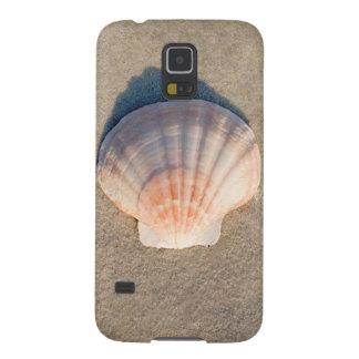 Sea Shell Laying On Sandy Beach Galaxy S5 Case