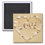 Sea Shell Love Heart