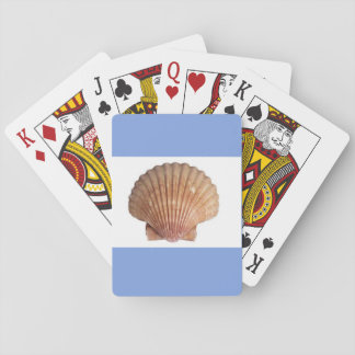 sea shell playing cards