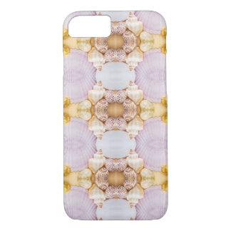 sea shell purple feminine pattern iphone case