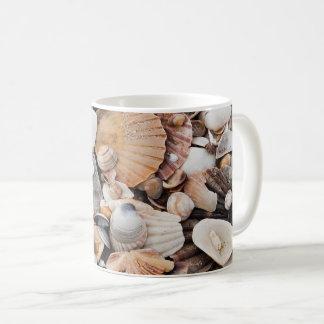Sea shell tea and coffee mug