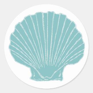 Sea Shell Wedding Envelope Seal