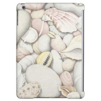Sea Shells and Pebbles in Pencil iPad Air Case