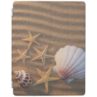 Sea Shells And Starfish iPad Cover