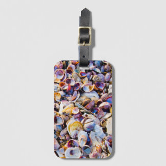 Sea Shells By The Sea Shore Luggage Tag