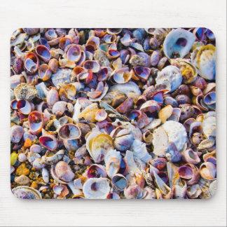 Sea Shells By The Sea Shore Mouse Mat