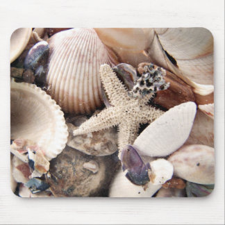 Sea Shells by the Shore Mouse Pad