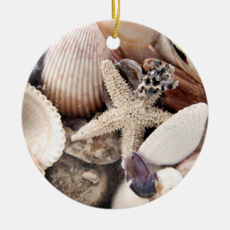 Sea Shells Christmas Ornament