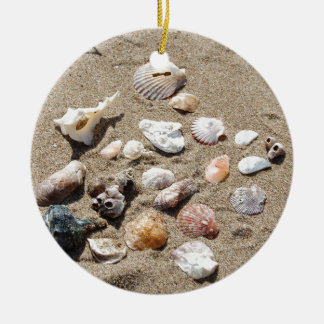 Sea shells. christmas ornament