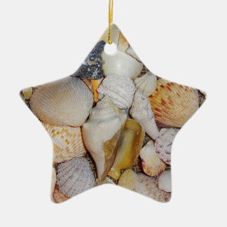 Sea Shells Christmas Ornament