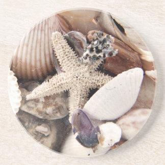 Sea Shells Drink Coaster