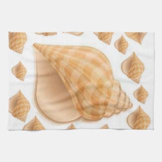 sea shells kitchen hand towels