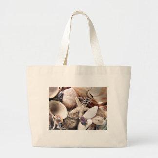 Sea Shells Large Tote Bag