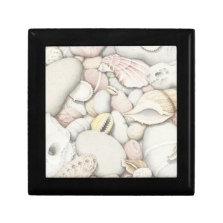 Sea Shells & Pebbles Square Tile Gift Box