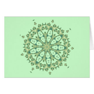 Sea Shells ~ Spokes Card