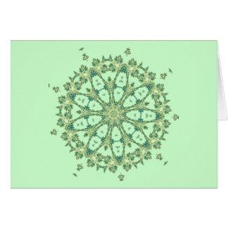 Sea Shells ~ Spokes Card
