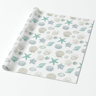 Sea Shells Wrapping Paper
