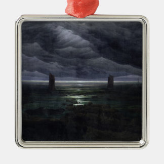 Sea Shore in Moonlight, 1835-36 Christmas Ornament
