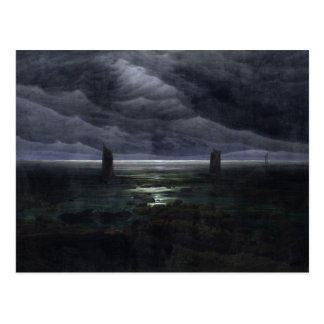 Sea Shore in Moonlight, 1835-36 Postcard