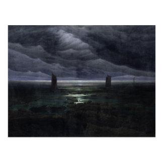 Sea Shore in Moonlight, 1835-36 Postcard
