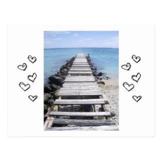 Sea Side Few Postcard