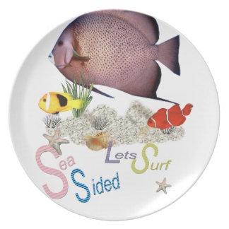 Sea Side plate