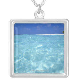 Sea Silver Plated Necklace