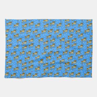 Sea smile tea towel