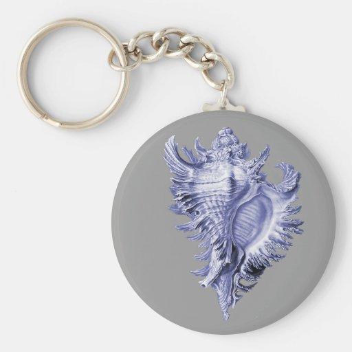 Sea Snail Key Chain