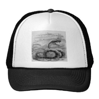 Sea Snake/Serpent Trucker Hat
