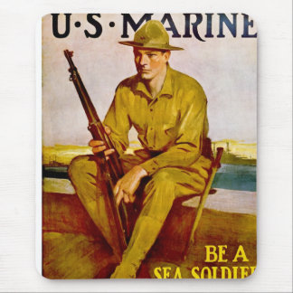 Sea Soldier Mouse Mat